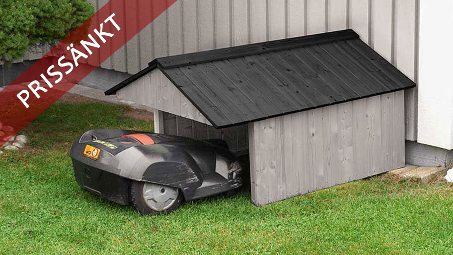 jabo 3386 garage skydd och hus f r din robotgr sklippare. Black Bedroom Furniture Sets. Home Design Ideas
